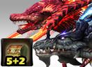 Dual Dragon Challenge 5+2
