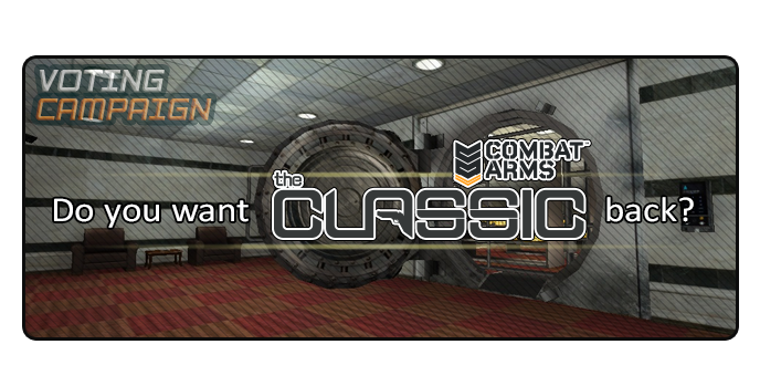 Vote for Combat Arms: the Classic!