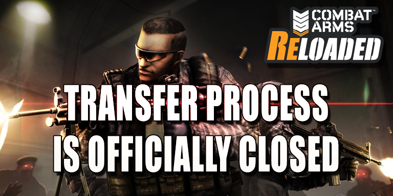 Transfer process Officially Closed (March 9, 2018 11:00 AM CET/ 2:00 AM PST)