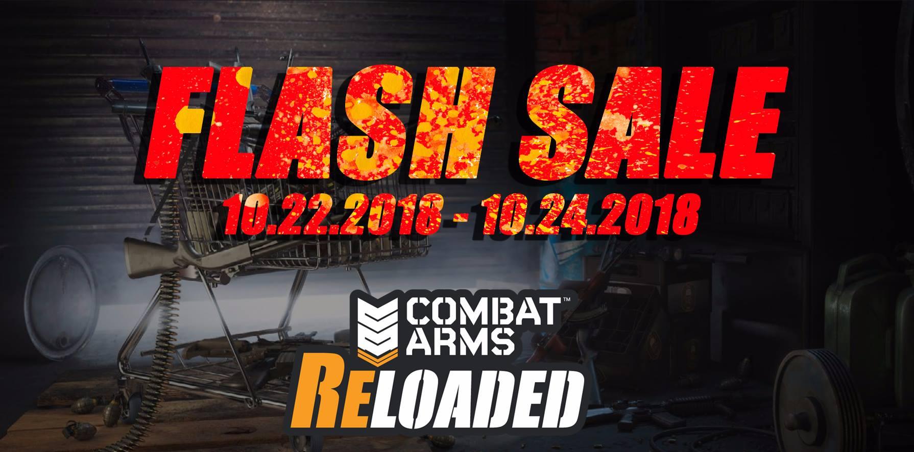 Flash sale 10.22.2018 - 10.24.2018