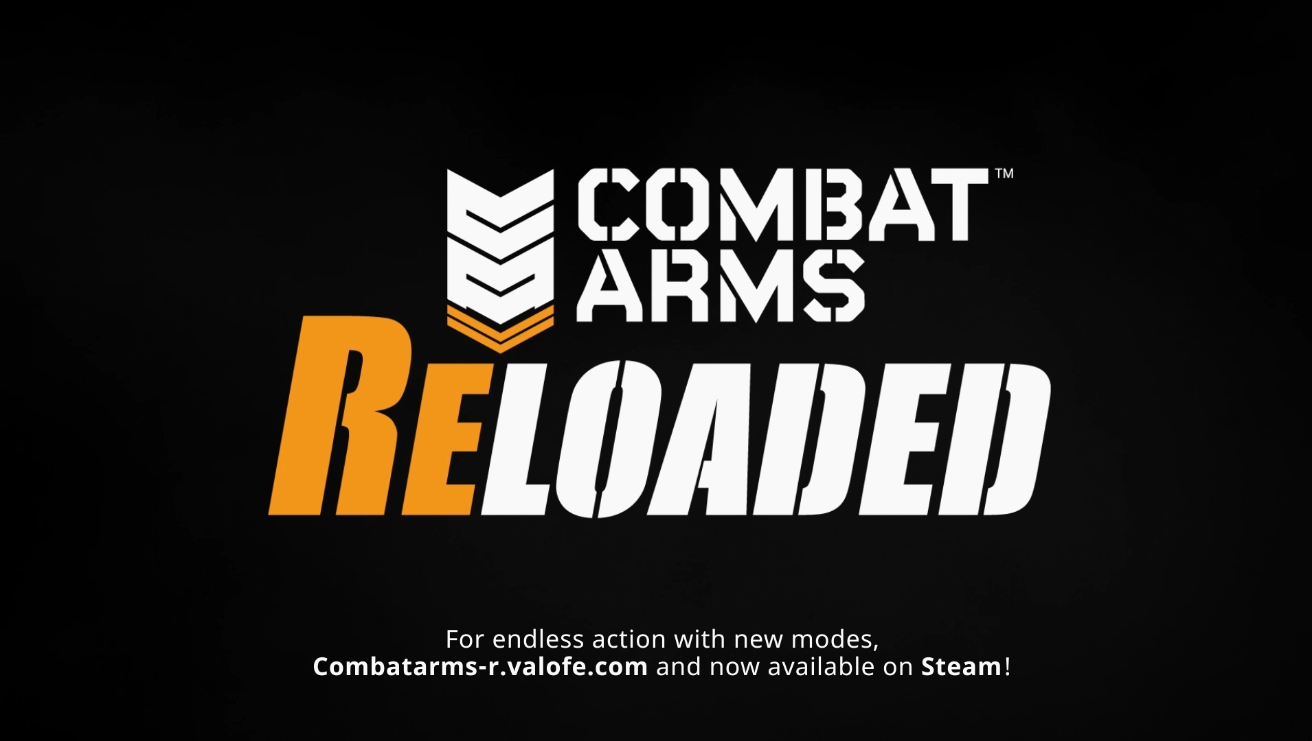 Important Announcement: Combat Arms: Reloaded video trailer is now on steam