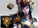 Sylvie's Gold Cube