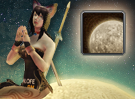 Lunar Moon Puzzle Piece