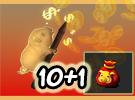 Lucky Pig Golden Cube 10+1