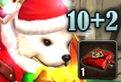 Santa Christmas Card 10+2